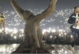 Footage from PNL's Tour 2017 – Live from Nantes !!! (Dans ta rue, Béné, Uranus, Onizuka…)