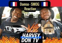 Harvey Don TV – Damso – Smog Reaction